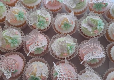 Lace Butterfly Muffins