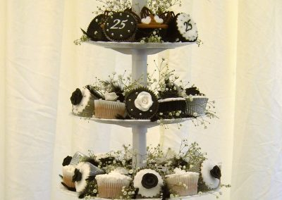 Black and White Muffin Tree