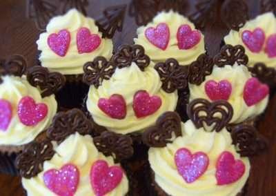 Buttercream Swirl Muffins