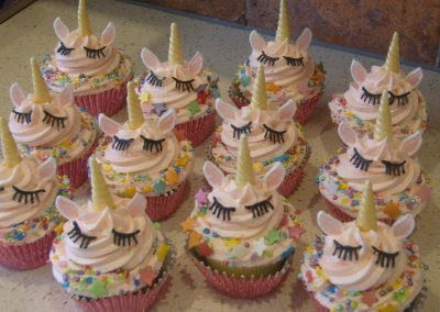 Unicorn Muffins - £3.50 per muffin (batches of 12)