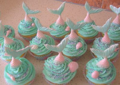 Mermaid Muffins - £3.50 per Muffin (batches of 12)