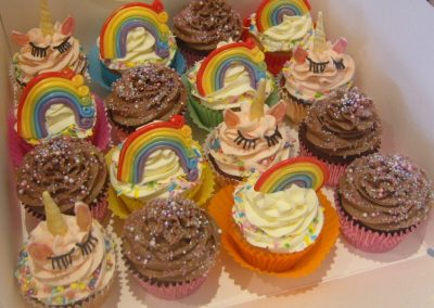 Unicorns, Rainbows and Sparkles - Muffin Selection - £3.50 per muffin (Batches of 15)