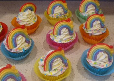 Rainbow Muffins - £3.50 per muffin (Batches of 15)