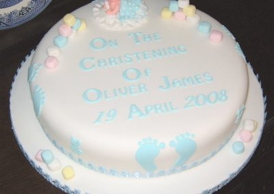 Christening Cake Gallery