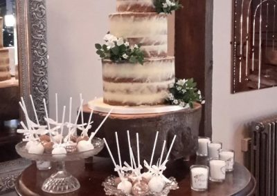 Semi Naked with cake pops