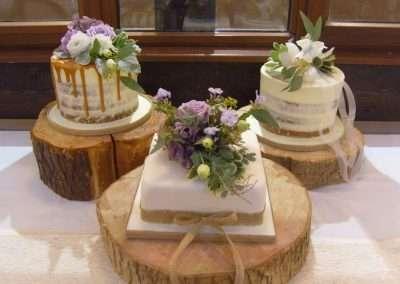 Individual cakes