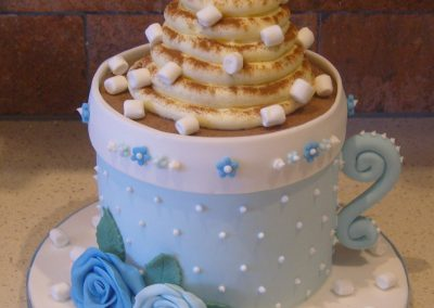 """Hot Chocolate - 6"""" (approx 15 servings) - £60.00, 8"""" (approx. 25 servings) - £70.00,  10"""" - (approx. 35 servings) - £80.00"""